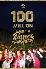 Dance The Night Away 100 Mil.
