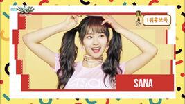 Music Bank 180427 Sana
