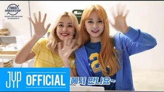 Beyond LIVE - TWICE World in A Day Ticket Purchase Tutorial with NAYEON JIHYO CHAEYOUNG TZUYU