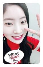 What Is Love Dahyun Photocard