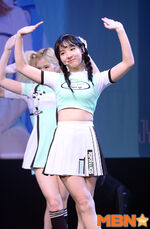 Nayeon Cheer Up showcase 6