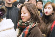 Incheon International Airport Arrival 181103 Jihyo 9