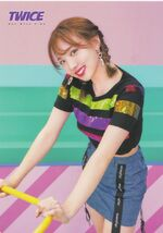 One More Time Photocard Nayeon