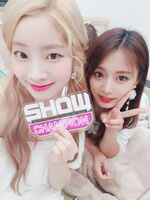 Show Champion 180718 Dahyun & Tzuyu
