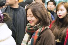 Incheon International Airport Arrival 181103 Jihyo 8