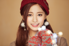 Tzuyu Merry & Happy promo photo