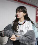 SBS song Daejeon pre-recording behind Momo