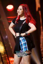 M COUNTDOWN 161105 Jihyo