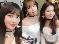 M COUNTDOWN 181108 Momo, Mina, & Sana