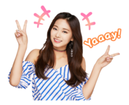Twice Line Stickers Tzuyu