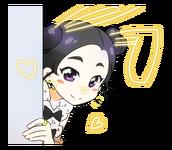 Candy Pop Line Stickers Dahyun 3