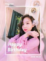 Birthday Nayeon 2018