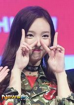 Nayeon Like Ooh Ahh showcase 3