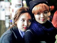 Nayeon and Jungyeon