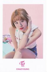 TT Japan Photocard Chaeyoung