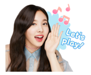 Twice Line Stickers Nayeon 2