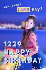 Birthday Sana 2017