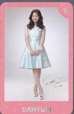 TWICEland Encore Concert Photocard Dahyun 5