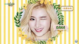 Music Bank 160527 Sana