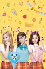 Qoo Dahyun, Jeongyeon, & Sana
