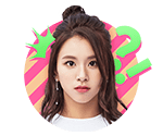 TWICEcoaster Lane 1 VLive Sticker Chaeyoung