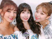 M COUNTDOWN 180719 Jihyo, Momo, & Jeongyeon