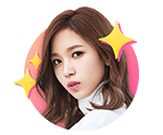 TWICEcoaster Lane 1 VLive Sticker Mina