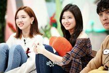 Sana and Nayeon