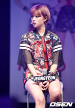 Jeongyeon Like Ooh Ahh showcase 2