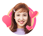 TWICEcoaster Lane 1 VLive Sticker Nayeon