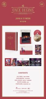 Twice Fanmeeting Once Begins DVD