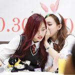 Minayeon whispering
