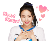 Twice Line Stickers Chaeyoung