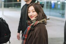 Incheon International Airport Arrival 181103 Jihyo 7