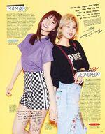 Seventeen Momo & Jeongyeon
