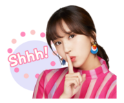 Twice Line Stickers Mina