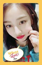 What Is Love Jihyo Photocard