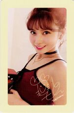 Twicetagram Momo Photocard (Pre-Order)