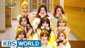 TWICE (트와이스) - Cheer Up Music Bank HOT Stage 2016.05.27
