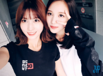 Mina and Momo Twitter Sep 12, 2017
