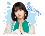 Twice Line Stickers Momo 3