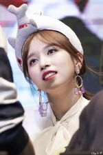 Yes Or Yes Yeouido Fansign Mina 10