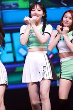 Nayeon Cheer Up showcase 5