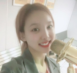 Nayeon with a mic IG Update