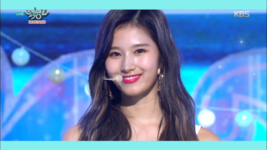 Music Bank 180713 Sana 2