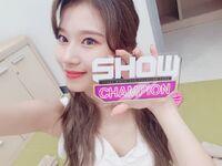 Show Champion 180718 Sana