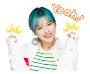 Twice Line Stickers Jeongyeon 3