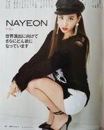 Nikkei October 2018 Nayeon