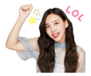 Twice Line Stickers Nayeon 3