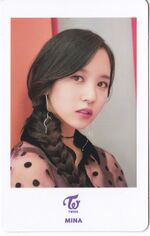 One More Time Photocard Mina 2